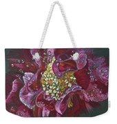 Camellia Rain Weekender Tote Bag