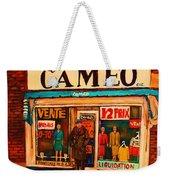 Cameo Dress Shop Weekender Tote Bag