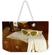 Camera Sunglasses On Luggage Weekender Tote Bag