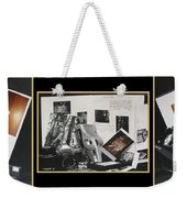 Camera Timeline Of A Photographer Weekender Tote Bag