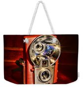 Camera - Vintage Brownie Starflash Weekender Tote Bag