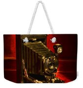 Camera - Vintage Kodak Pocket Camera Weekender Tote Bag