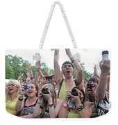 Cameras In The Crowd Weekender Tote Bag