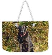 Camouflage Labrador - Black Dog - Retriever Weekender Tote Bag
