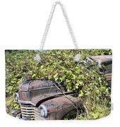 Camouflaged Car Weekender Tote Bag