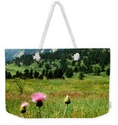 Chautauqua Wildflowers Boulder Weekender Tote Bag