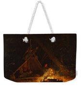 Camp Fire Weekender Tote Bag