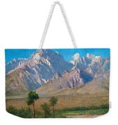 Camp Independence Colorado Weekender Tote Bag