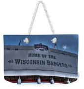 Camp Randall Stadium Weekender Tote Bag