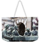 Campari Grave Marker Detail IIi Disciples Last Supper Weekender Tote Bag