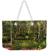 Campbell Rhododendron Gardens 2am 6831-6832 Panorama Weekender Tote Bag