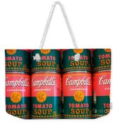 Campbell's Tomato Soup Pop Art Weekender Tote Bag