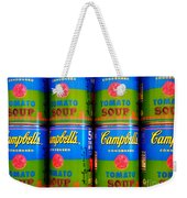 Campbell's Tomato Soup Retro Andy Warhol Weekender Tote Bag