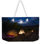 Campfire And Moonlight Weekender Tote Bag
