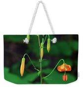 Campground Flower Weekender Tote Bag