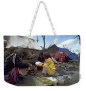 Camping In Iraq Weekender Tote Bag