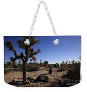 Camping In The Desert Weekender Tote Bag