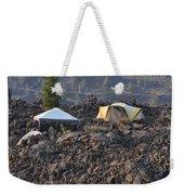 Camping On The Moon Weekender Tote Bag