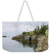 Campobello Island -  East Quoddy Lightstation Weekender Tote Bag