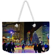 Campus Marcus Winter Night  Weekender Tote Bag