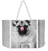 Can You Touch Your Nose With Your Tongue Weekender Tote Bag