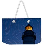 Cana Island Lighthouse Solstice Weekender Tote Bag