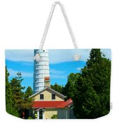 Cana Island Wi Lighthouse Weekender Tote Bag