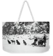 Canada Dog Sled, C1910 Weekender Tote Bag