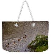 Canada Geese Weekender Tote Bag