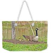 Canada Goose And Goslings Weekender Tote Bag