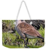 Canada Goose With Young Weekender Tote Bag