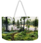 Canada Morning Weekender Tote Bag