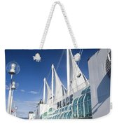 Canada Place Vancouver Weekender Tote Bag