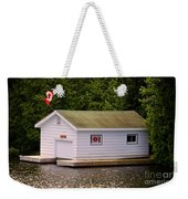 Canadian Boathouse  Weekender Tote Bag