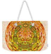 Canadian Fall Colors Conversion Into Chakra Wheel Deco Enery Mandala Weekender Tote Bag