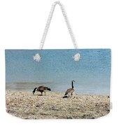 Canadian Geese 2 Weekender Tote Bag