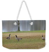 Canadian Geese Tourists Weekender Tote Bag