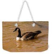 Canadian Goose In On Golden Pond Weekender Tote Bag