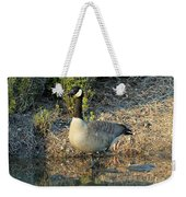 Canadian Goose Reflection Weekender Tote Bag