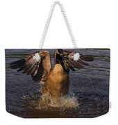 Canadian Goose Smooth Landing Weekender Tote Bag