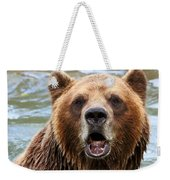 Canadian Grizzly Weekender Tote Bag