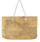 Canadian Mounted Police Map Weekender Tote Bag