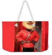 Canadian Mountie Weekender Tote Bag