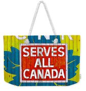 Canadian National Railway Stamp Weekender Tote Bag