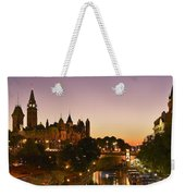 Canadian Parliament Buildings Weekender Tote Bag by Tony Beck