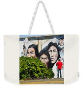 Canadian Retrospective Weekender Tote Bag