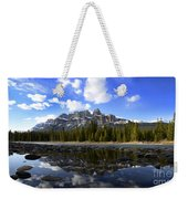 Canadian Rockies 8 Weekender Tote Bag