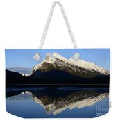 Canadian Rockies Mount Rundle 1 Weekender Tote Bag