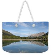 Canadian Rocky Mountains With Lake  Weekender Tote Bag