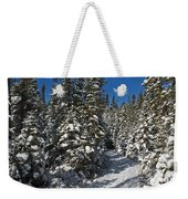Canadian Winter Wonderland.. Weekender Tote Bag